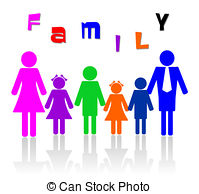 Family of six members Illustrations and Clipart. 8 Family of six.