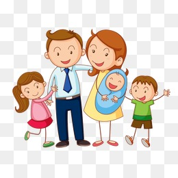 Family of five clipart 8 » Clipart Station.