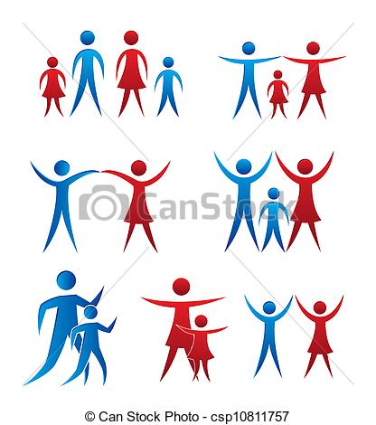 Family vector Vector Clipart Royalty Free. 99,626 Family vector.