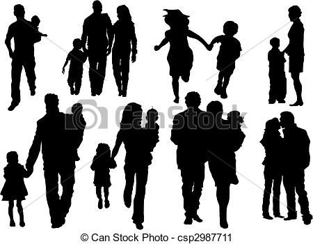 Family Vector Clipart Royalty Free. 112,081 Family clip art vector.