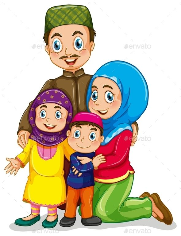 Family Clipart With No Mom Ore Dad.