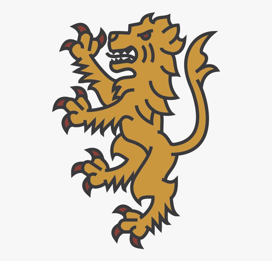 Family Crest Lion.