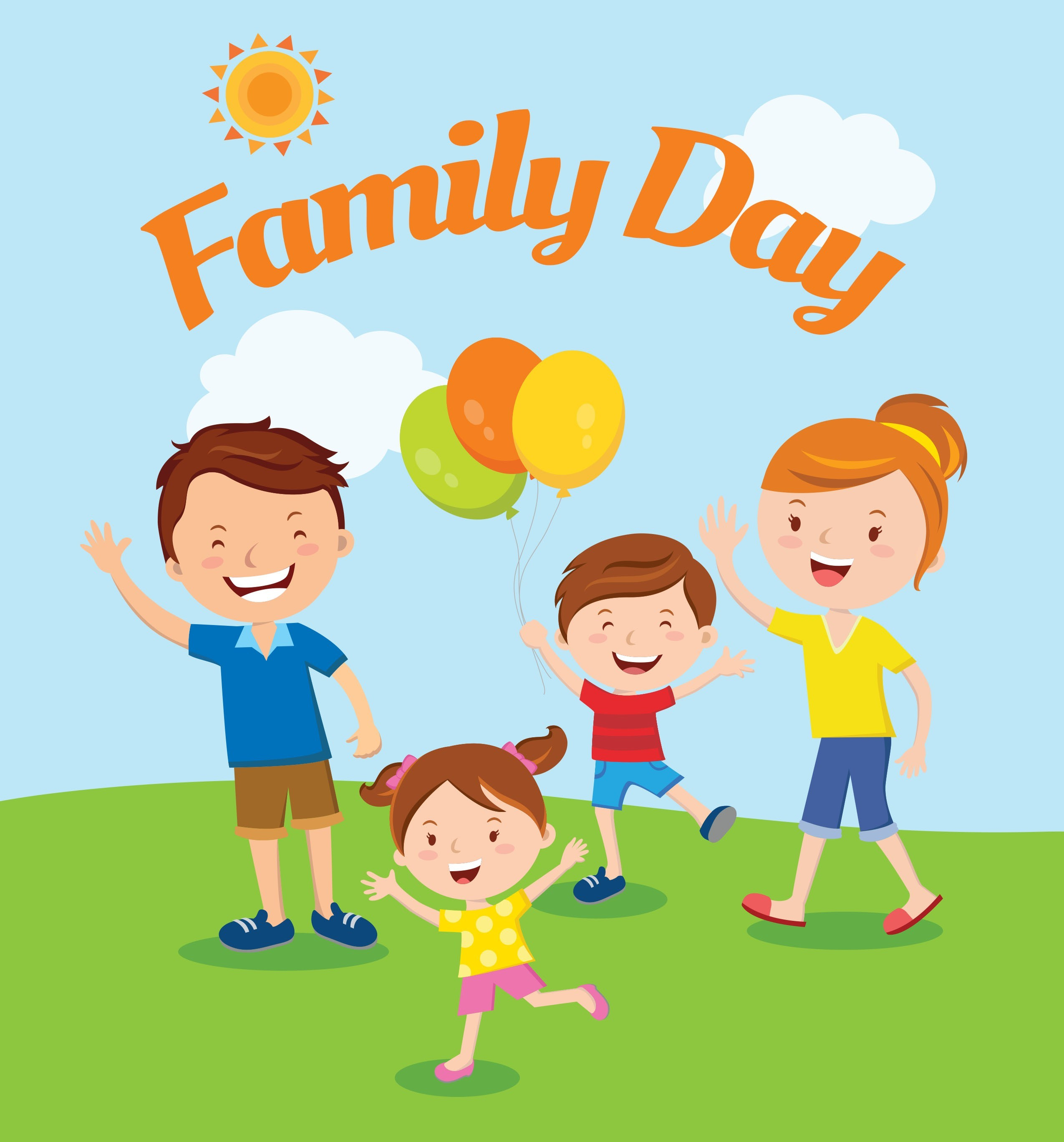 Family Day 2017 Clipart.