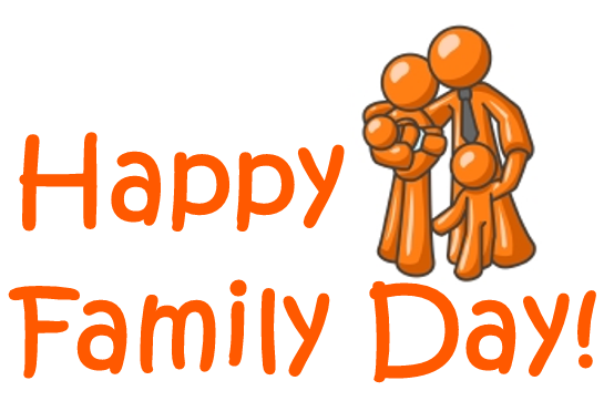 Free Family Day Clipart.