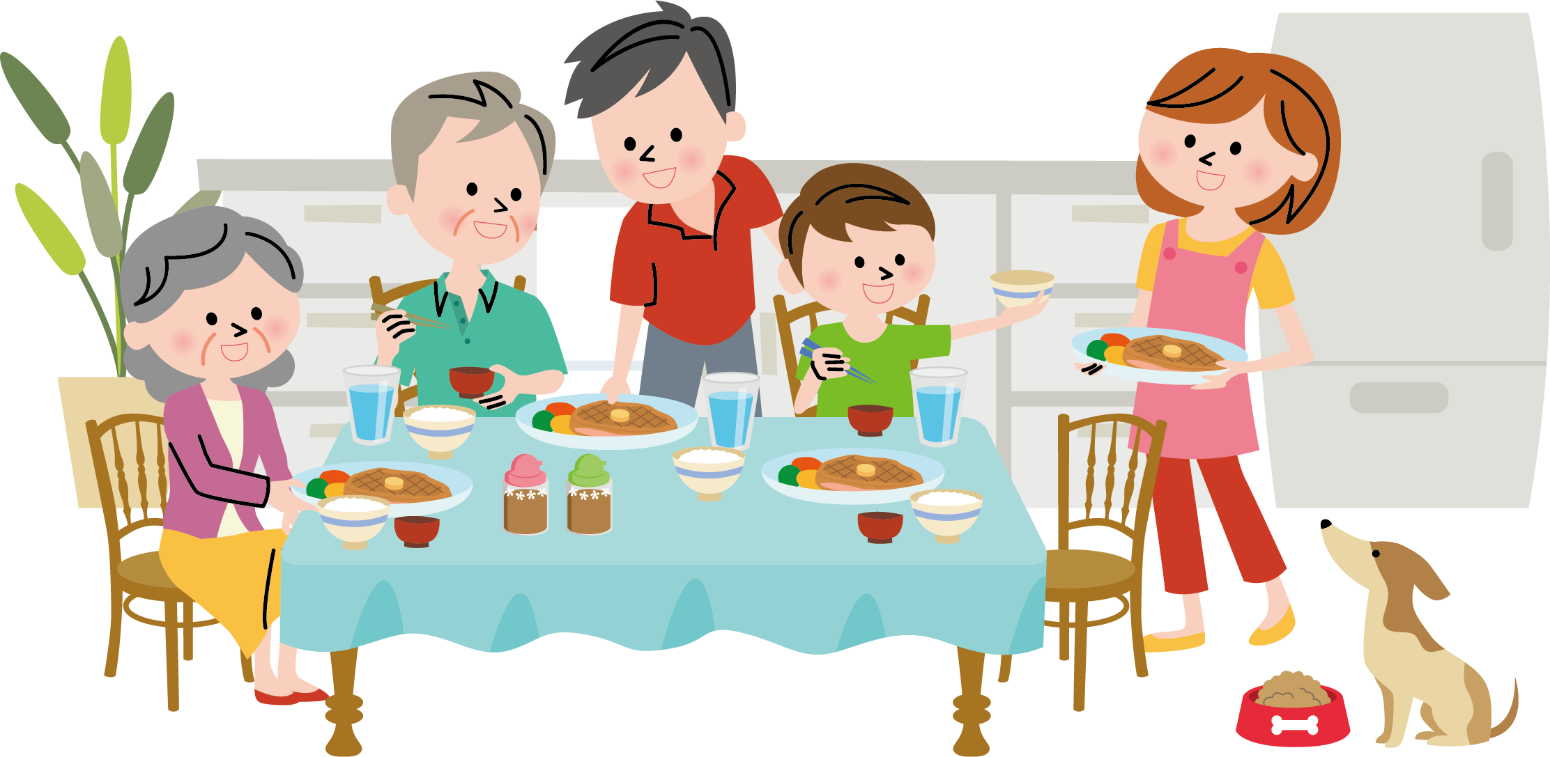Family dinner clipart clipart images gallery for free download.