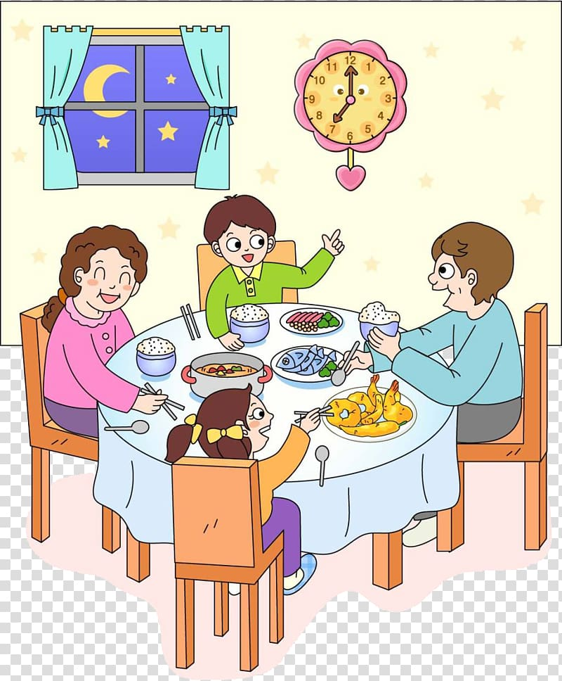 family dinner clipart 10 free Cliparts | Download images ...