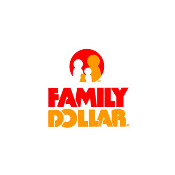 Family dollar Logos.