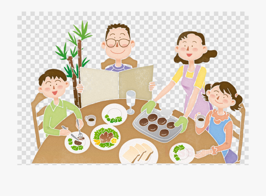 Eating Breakfast Clipart Graphics Illustrations.