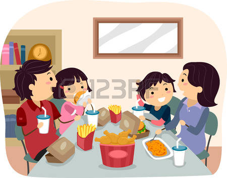 4,171 Family Dinner Stock Vector Illustration And Royalty Free.