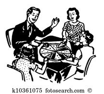 Family eating dinner together Stock Illustrations. 27 family.