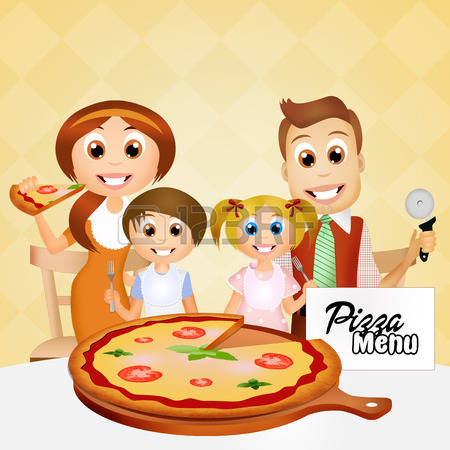 186 Pizza Family Stock Vector Illustration And Royalty Free Pizza.