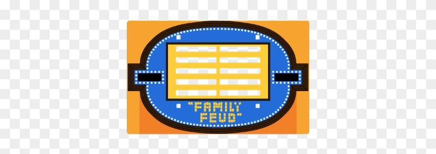 Family Gameshow Familyfeud Feud Blank Clipart (#2791205).