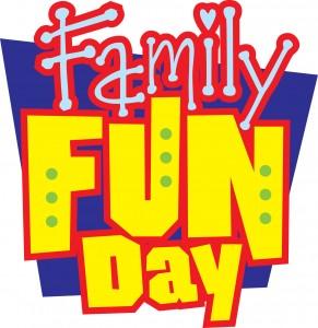 Family Fun Day Clipart.