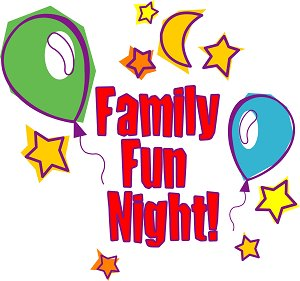 Family fun night clipart.