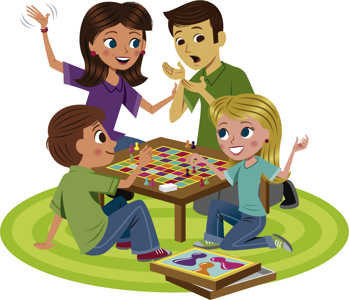 Family Games Clipart.