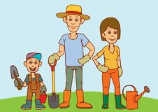Family gardening clipart 3 » Clipart Portal.