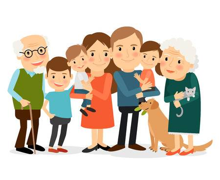 1,202 Family Gathering Stock Illustrations, Cliparts And Royalty.