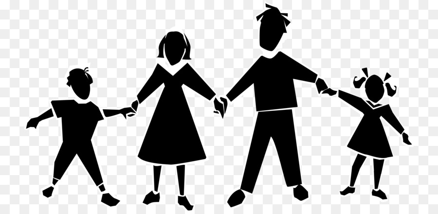 Family Holding Hands clipart.