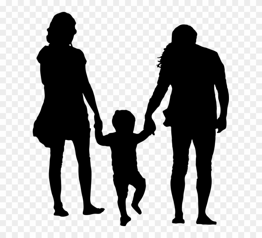 Girl And Boy Holding Hands 12, Buy Clip Art.