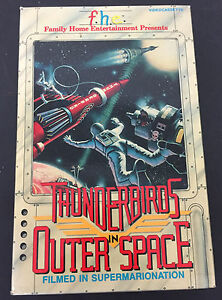 Details about Vintage Thunderbirds in Outer Space VHS large box, Family  Home Entertainment.