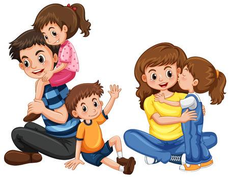 Family Clip Art Stock Photos And Images.