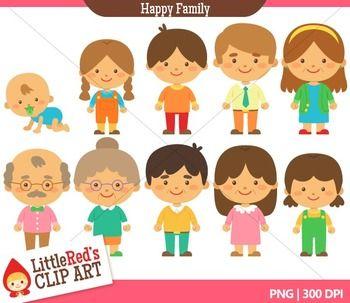 Family Member Clipart.