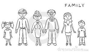 Image result for clipart images of family members.