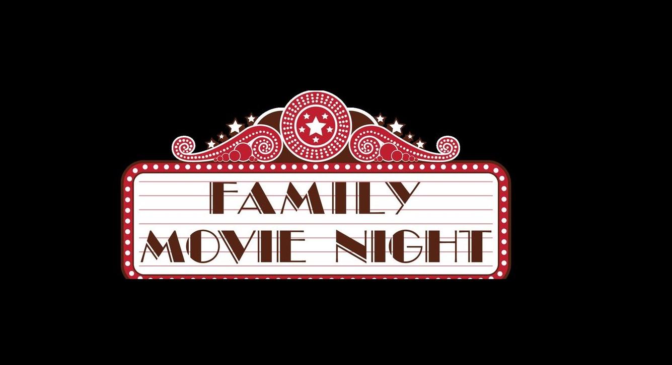 Family Movie Night Clipart.