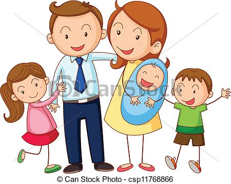 Family Illustrations and Clipart. 145,577 Family royalty free.
