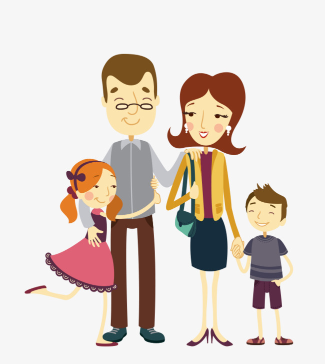 Family of four clipart 7 » Clipart Station.