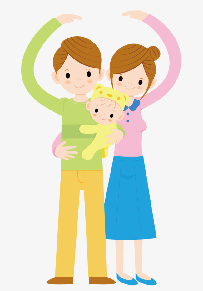 Family Of Three Clipart (95+ images in Collection) Page 1.