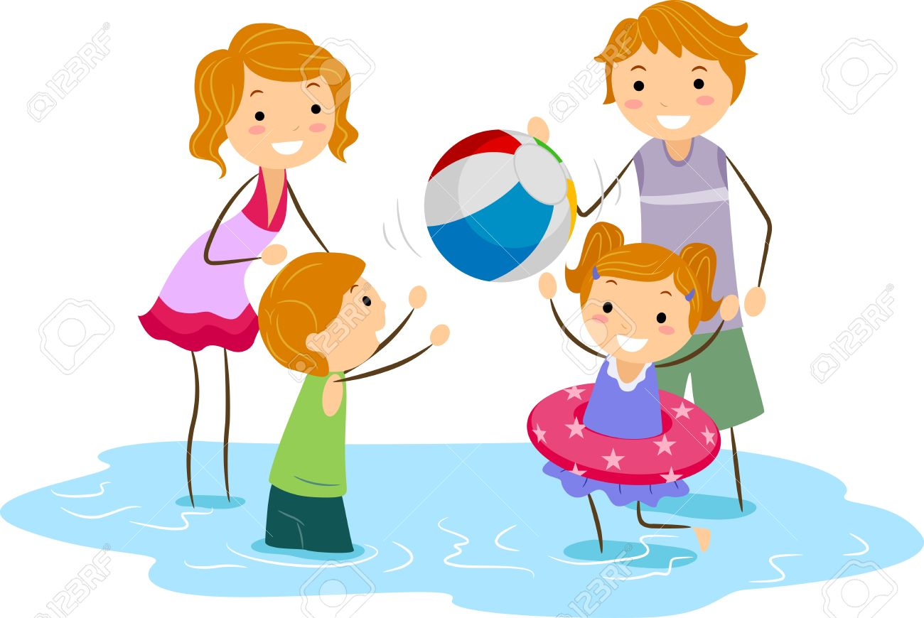 Family outing clipart - Clipground