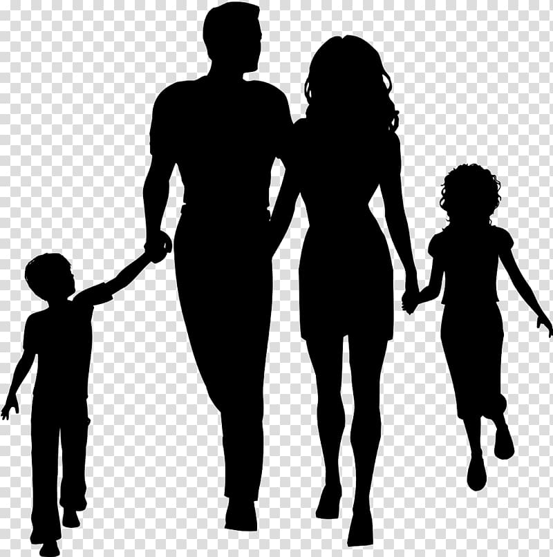 Family outline sketch, Family Silhouette , Family cartoon.