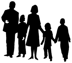 People Clipart Family.