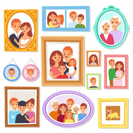 2,025 Album Photo Family Cliparts, Stock Vector And Royalty Free.