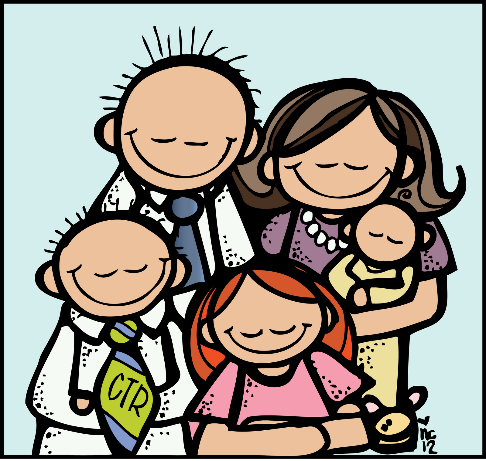 Gallery for family clip art images free 2 clipartcow.