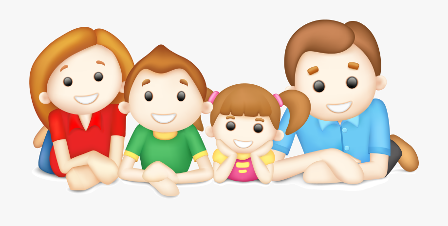 Families Clipart Happy Family.