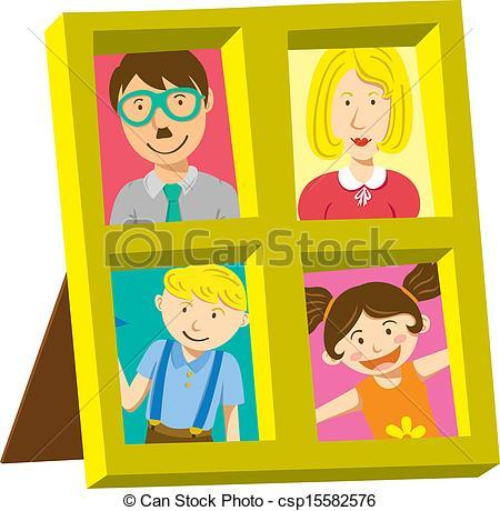 Family picture frame clipart 2 » Clipart Portal.