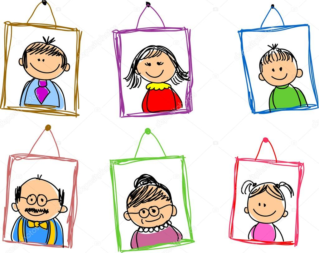 Family picture frame clipart 14 » Clipart Station.