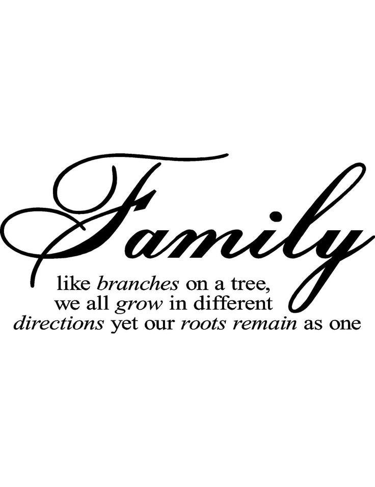 Family Quotes Clipart.