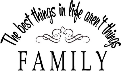 We Are Family Clipart.