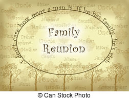 Family reunion Illustrations and Clipart. 382 Family reunion.