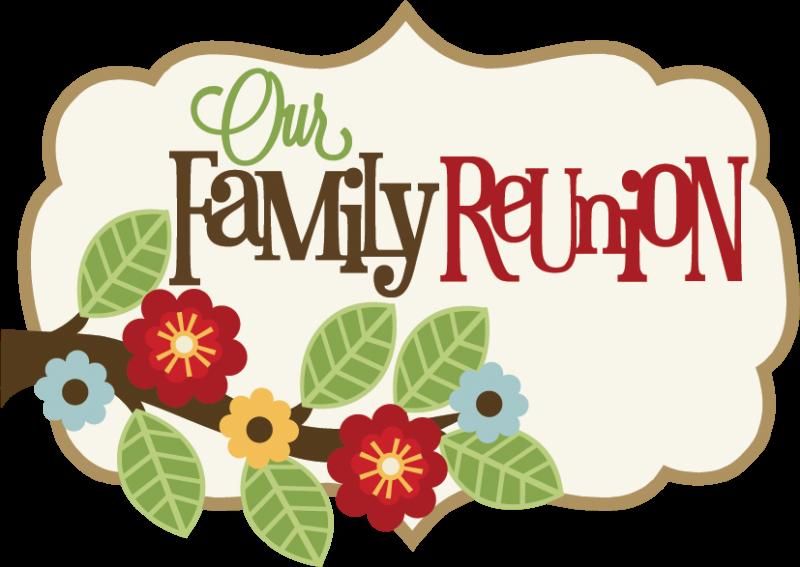Family Reunion Border Clip Art.