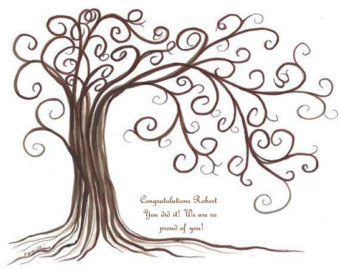 Family tree family reunion printable clipart 2 2.