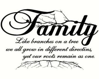 Family Tree Wall Decal Giant Clipart.