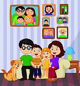 Family room Clip Art Vector Graphics. 2,424 family room EPS.