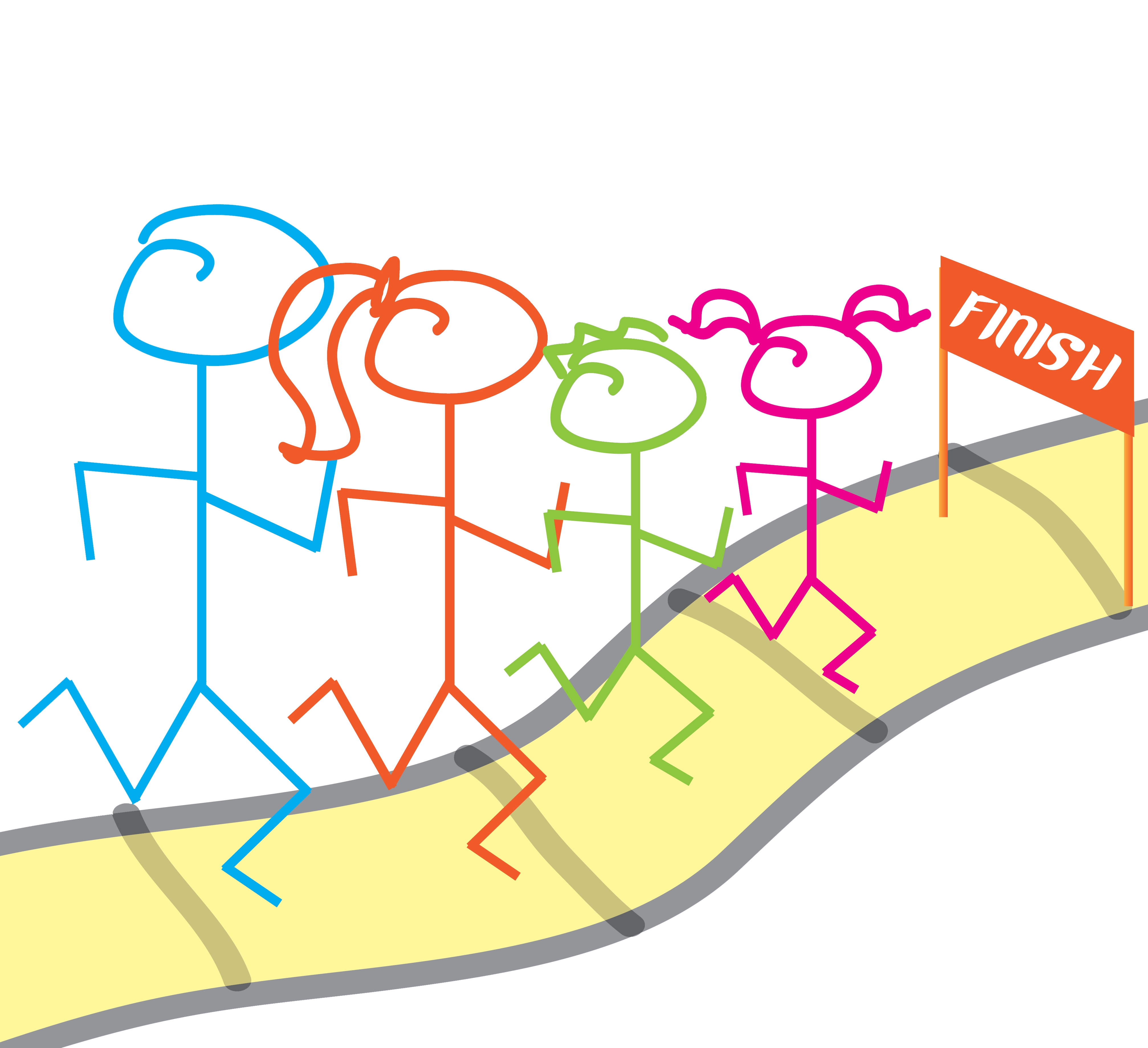 Family Fun Run Clipart#2107483.