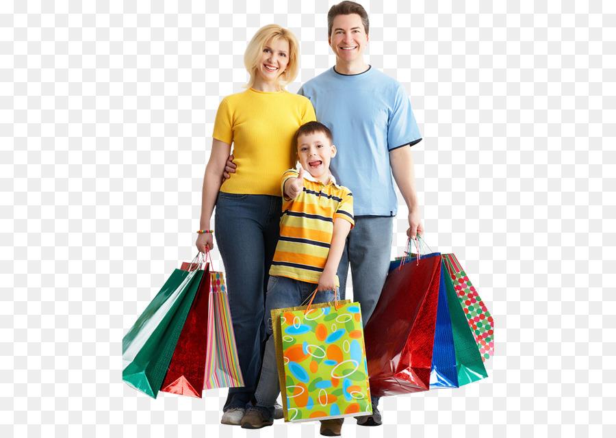 Family Shopping clipart.