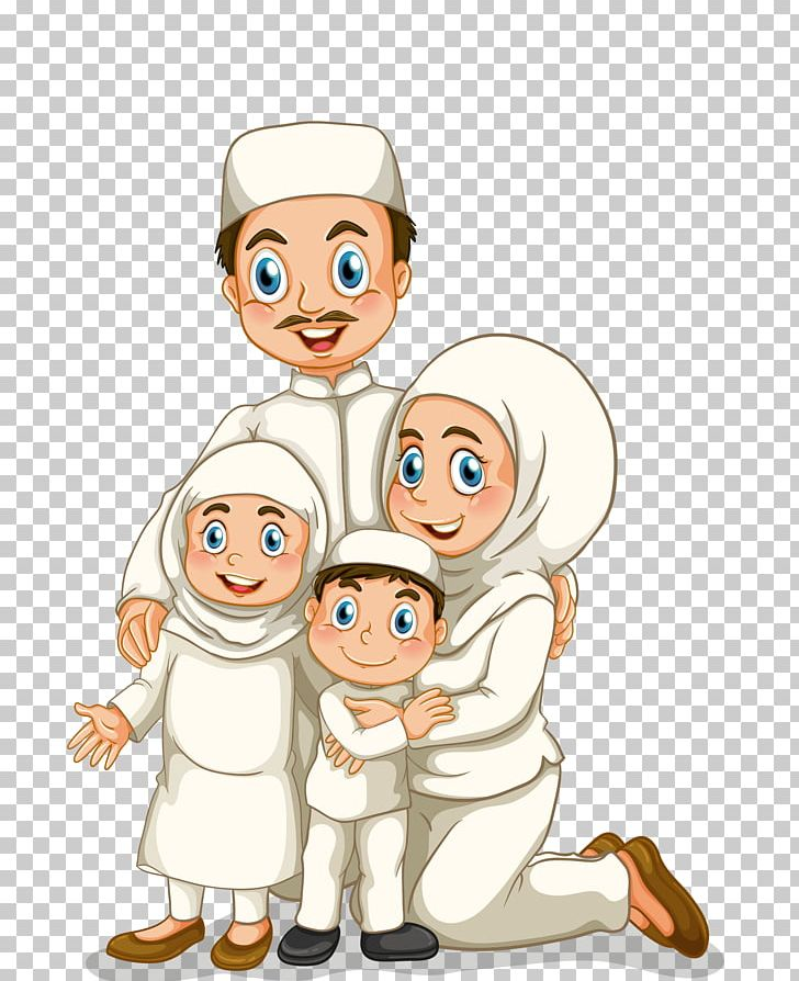 Family Stock Photography Muslim Illustration PNG, Clipart.