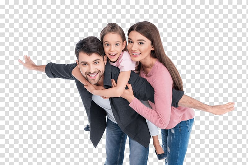 Family of three , Child Family, happy family transparent background.